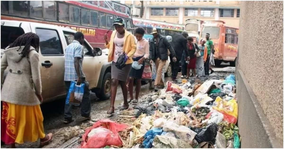 Mtoto wa mwezi mmoja apatikana kwa takataka katikati ya jiji la Nairobi