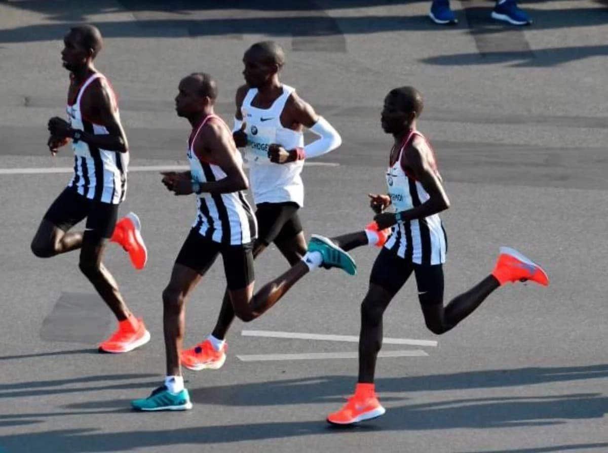 Clean sweep for Kenya at Berlin marathon as Kipchoge smashes World record