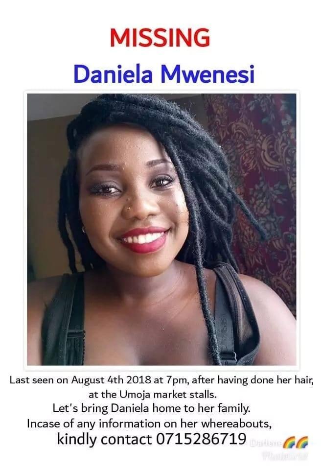 Familia yahangaika kumtafuta mwanamke 21, aliyetoweka katika mtaa wa Umoja Nairobi