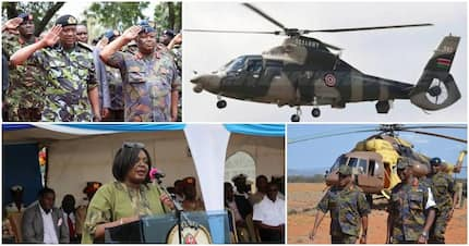 Ministry of Defence bought 7 faulty choppers from Jordan at KSh 400 million - Auditor General