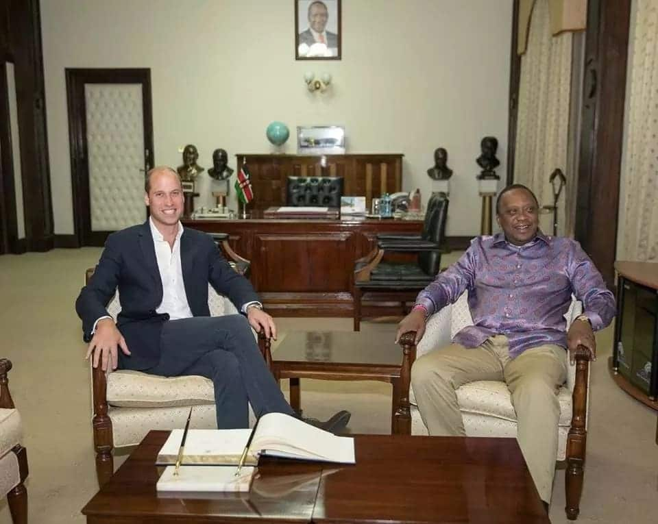 Prince William holds talks with President Uhuru, spends time with Kenyan troops during visit