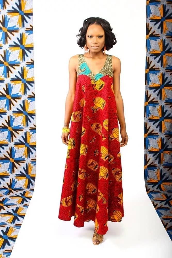 4b8b25095e87b Latest Kitenge design and fashion for pregnant women(with pictures)