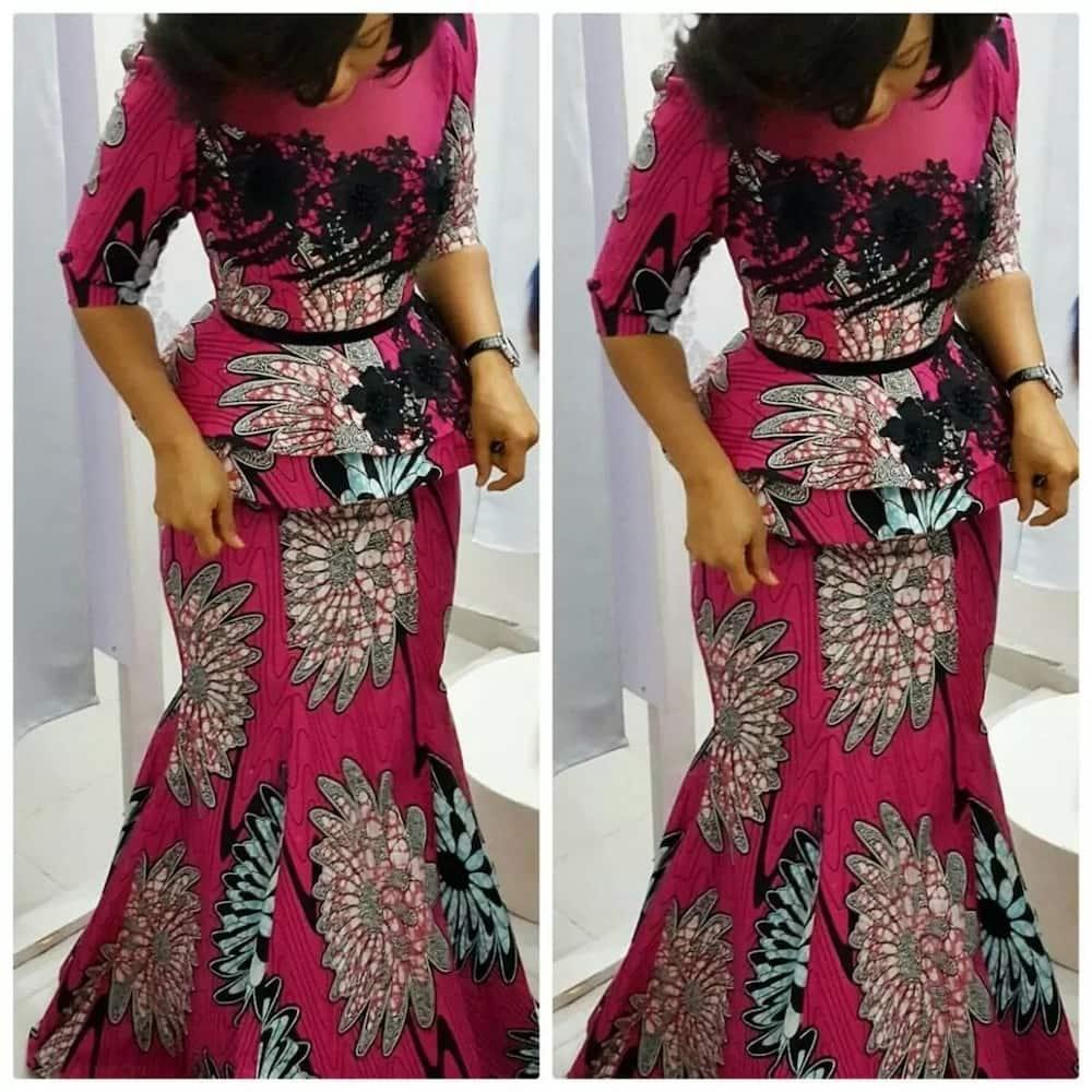 Trendy ankara styles for wedding