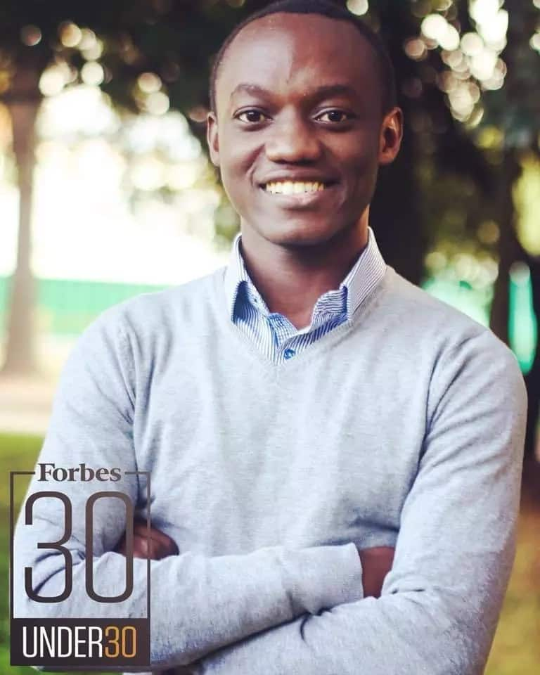 Leroy Mwasaru was listed among 30 best business entrepreneurs in Africa below the age of 30. Photo: Leroy Mwasaru/Facebook.
