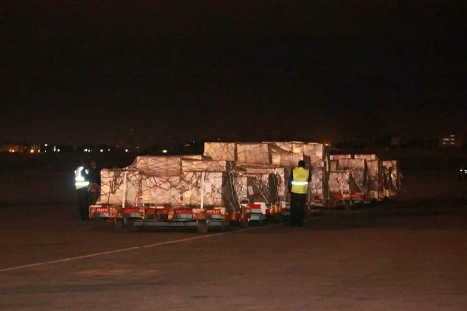 In photos: Presidential ballot paper for 30 counties arrive in Kenya