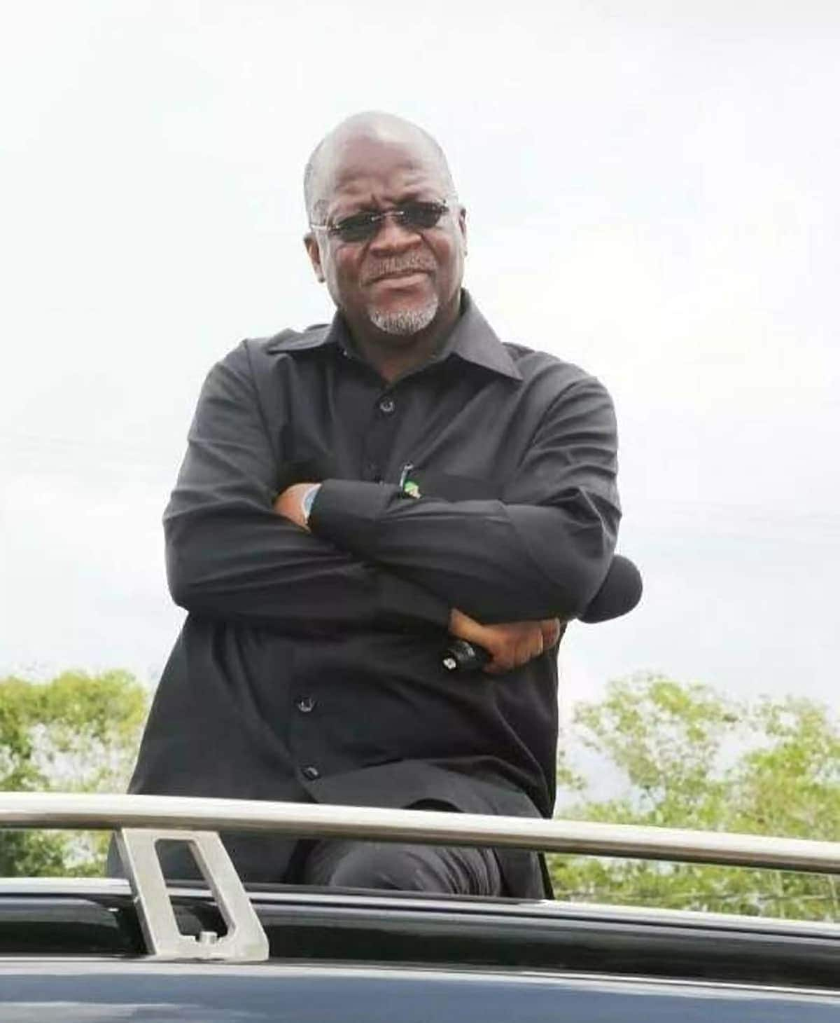 President Magufuli promises Tanzanians his party will rule the country forever