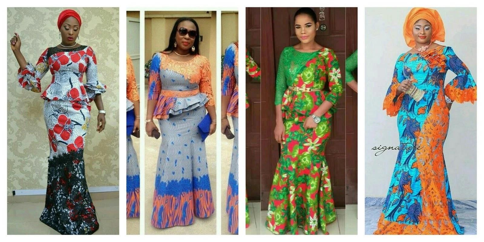 Lace African Dresses Designs Tuko Co Ke