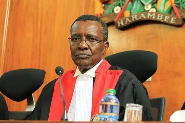 Chief Justice David Maraga has been blamed for his ruling which nullified President Uhuru Kenyatta's elections in Septmber 2017. Photo: Courtesy.