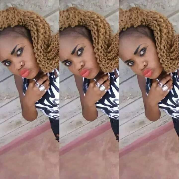 Behave yourself or I will kill you - Nairobi Killer cop Hessy issues last warning to another pretty gangster