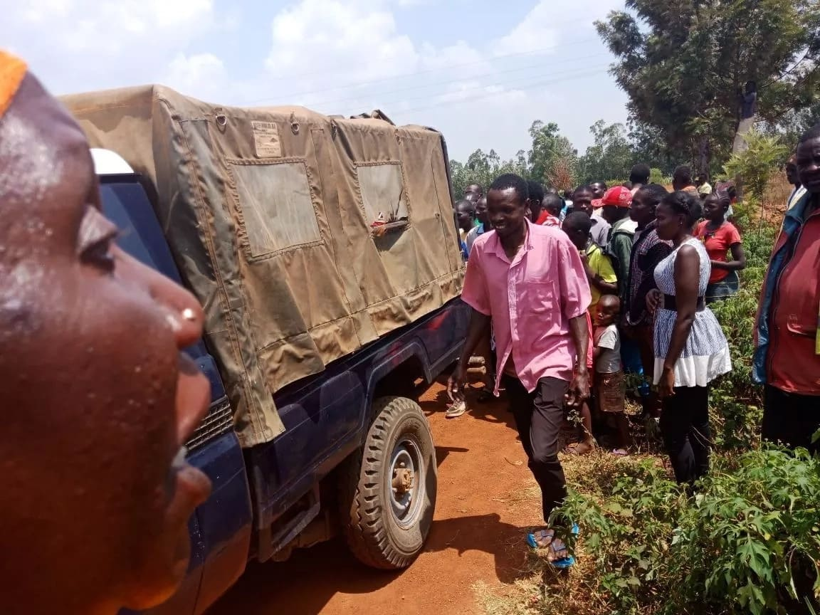 Bungoma man who killed wife
