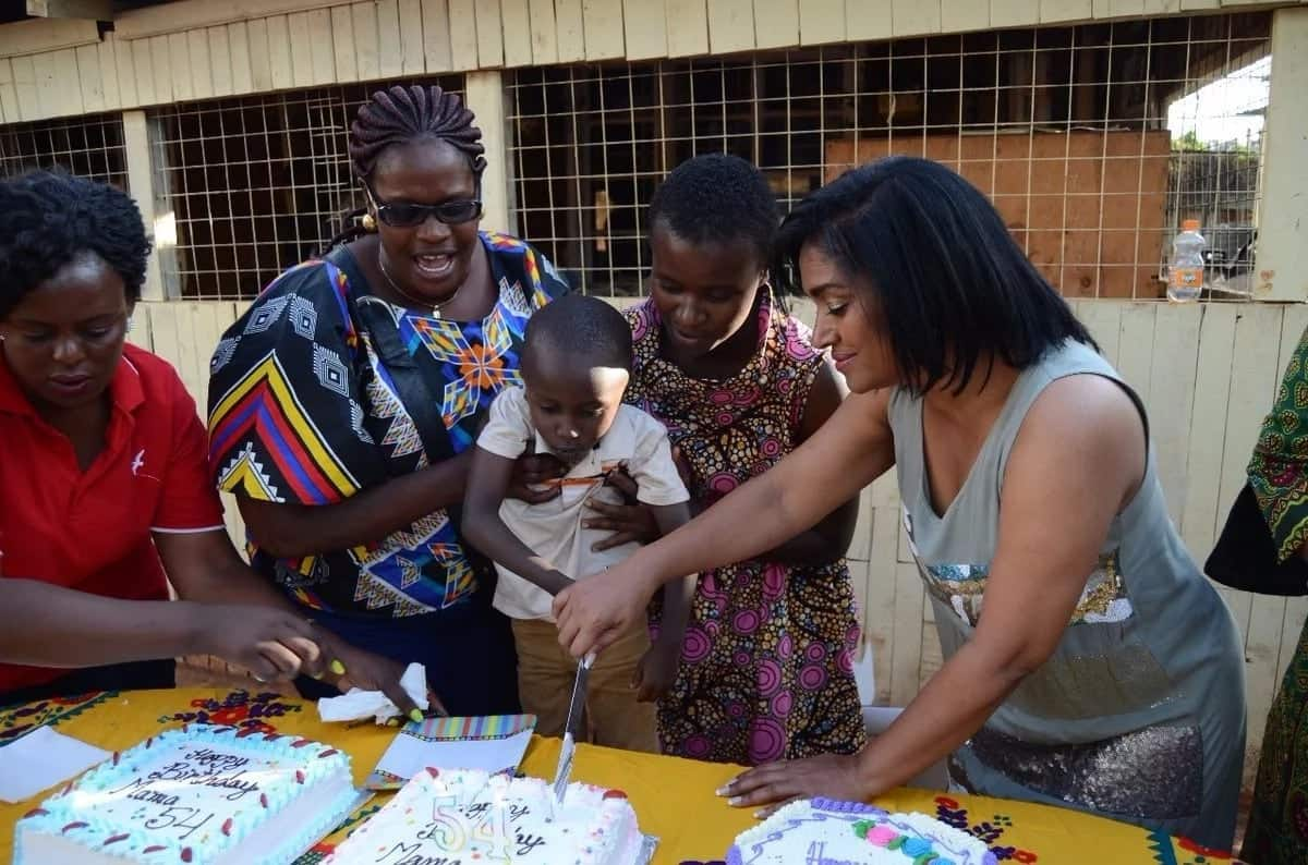 Mike Sonko sponsors Esther Passari's 54th birthday party with disadvantaged children