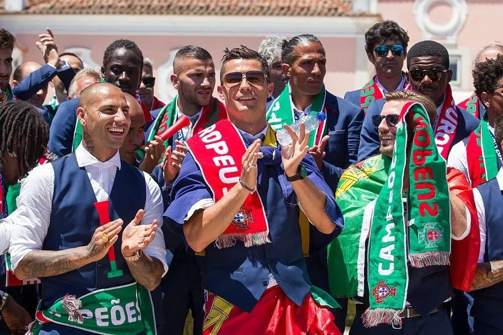 Portugal President De Sousa sends-off World Cup bound Cristiano Ronaldo and team