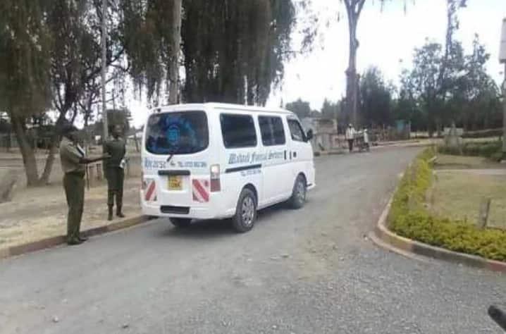 Police explain why Yvonne Wamalwa's body was ferried in ordinary hearse from Nanyuki to Nairobi by road