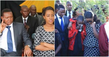 Mlinzi wa gavana wa Machakos azikwa huku majonzi yakimjaa mkewe( Picha)