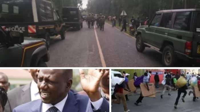 Police finally release identity of man who attacked home of DP Ruto