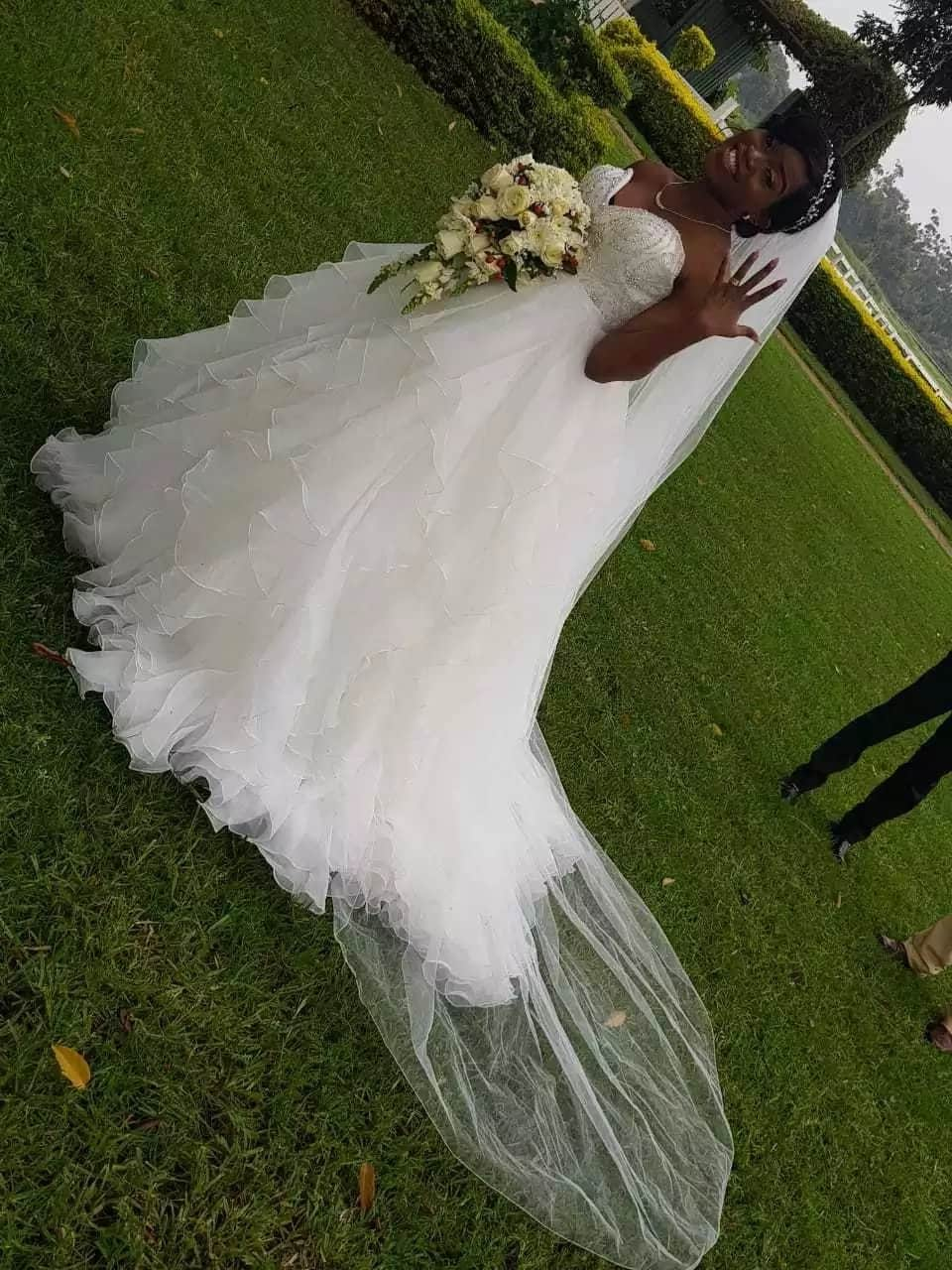 Daughter to Sofapaka millionaire owner says I do in colorful wedding