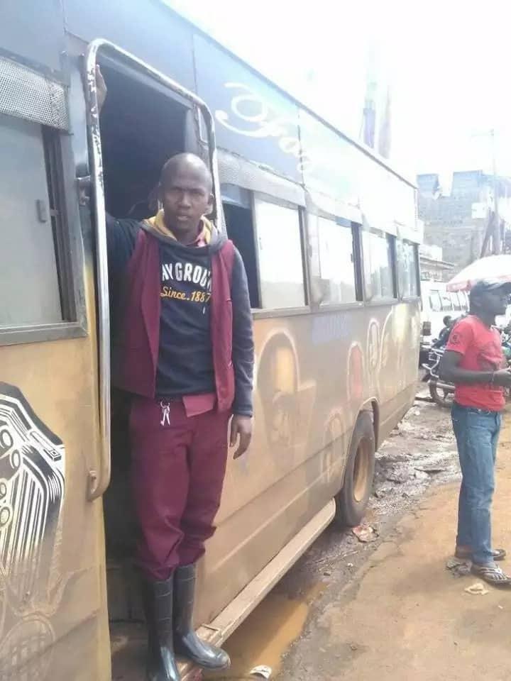 Honest makanga who returned KSh 30k to passenger welcomes bouncing baby boy