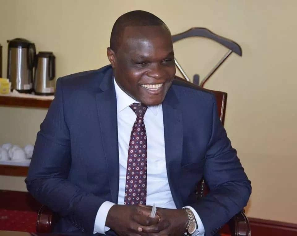 NASA CEO is all smiles as he assumes new job given by Uhuru Kenyatta