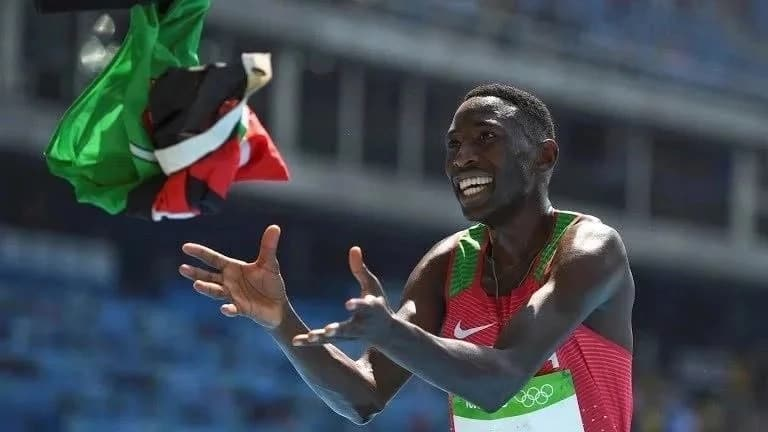Team Kenya bursts into life, swoops gold, silver, bronze in Commonwealth 3000 metres men's steeplechase