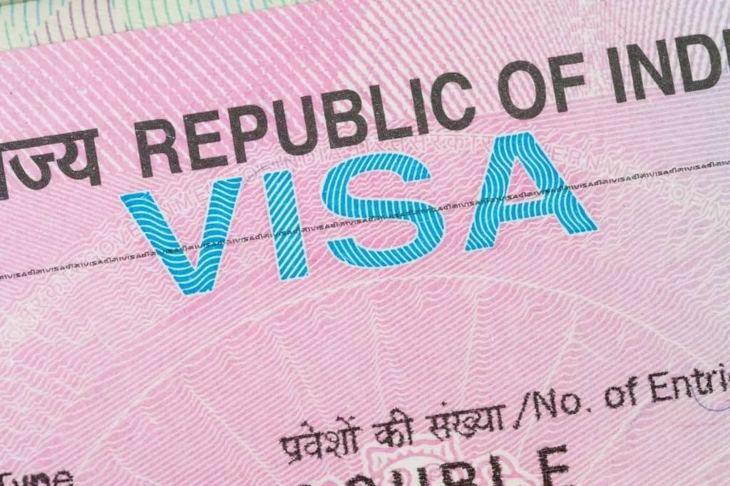 Indian visa application fees & requirements