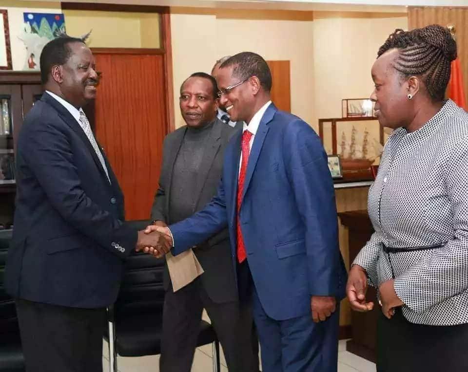 Uhuru and I wanted a peaceful Kenya, not a bleeding country - Raila Odinga