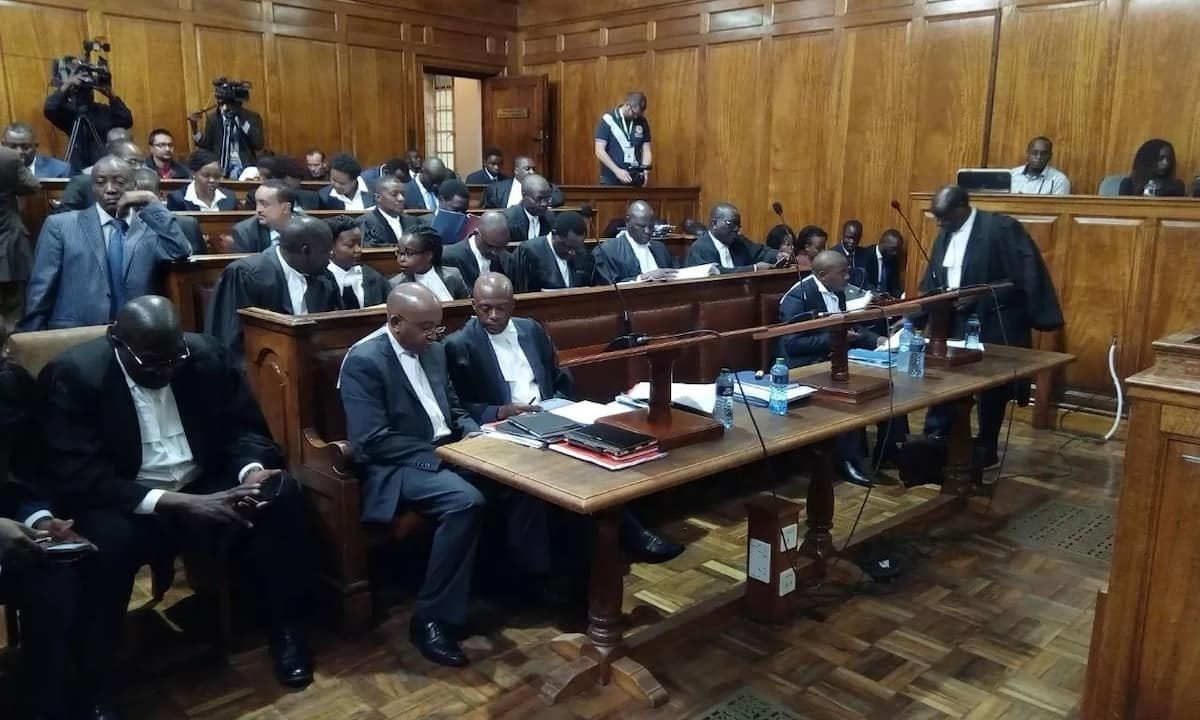 Tight security at Supreme Court ahead of landmark ruling by Maraga as told in photos