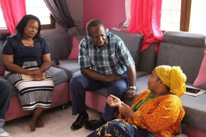 TZ president Magufuli and wife donates KSh 600k to sick actress