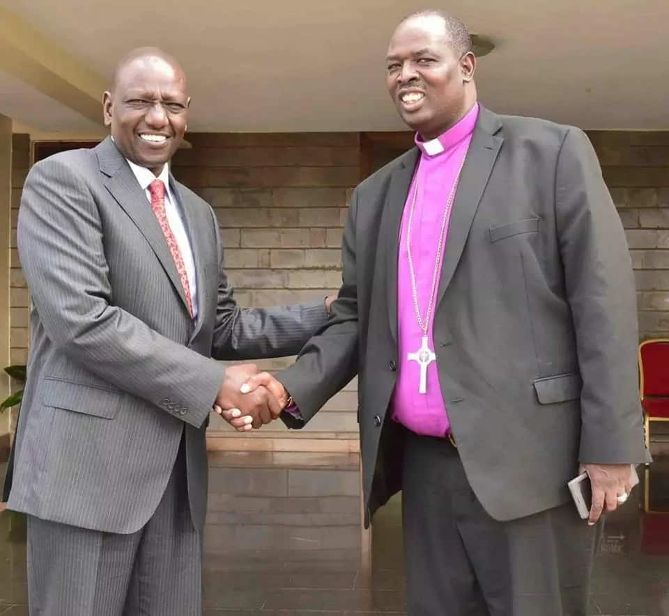William Ruto hosts Anglican Church of Kenya head at karen home as he builds political base