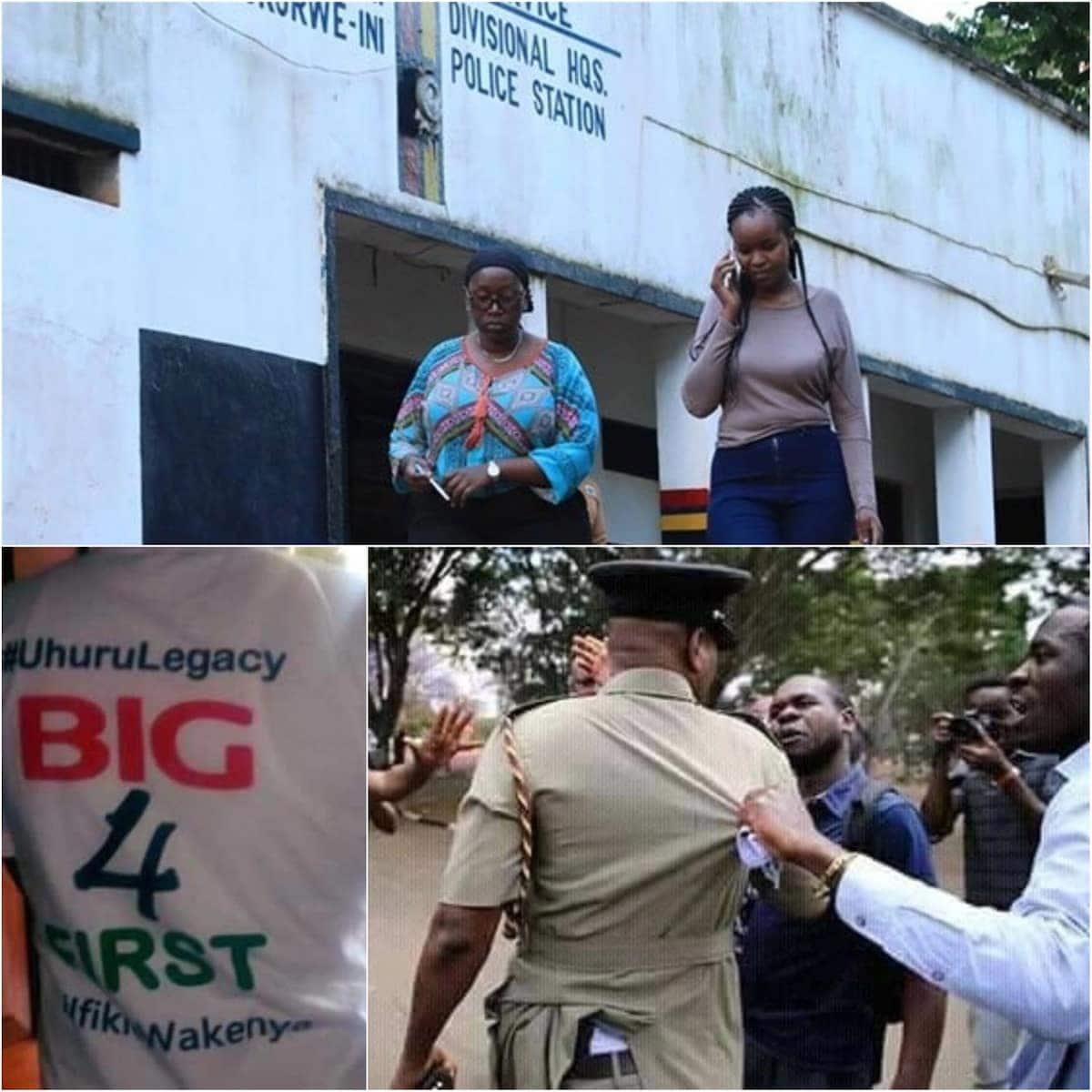 Wanahabari wa Nation, Standard walazimika kufuta mahojiano ya jamaa wa Nyeri anayempinga Ruto ili waachiliwe
