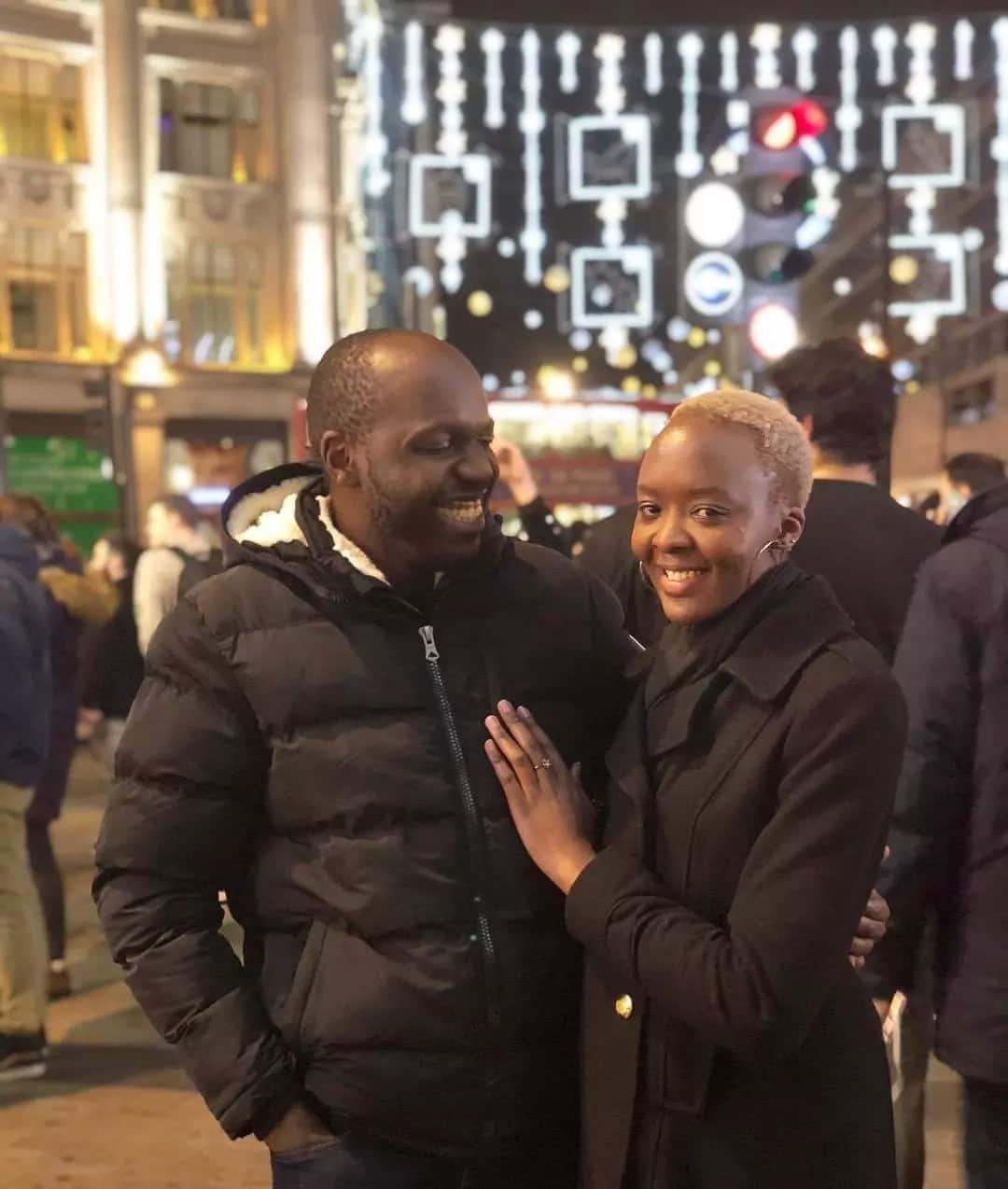 Larry Madowo wife who is she?