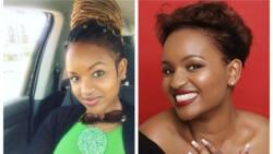 Picha 17 za kuvutia za Grace Msalame akiwa na michano tofauti ya nywele
