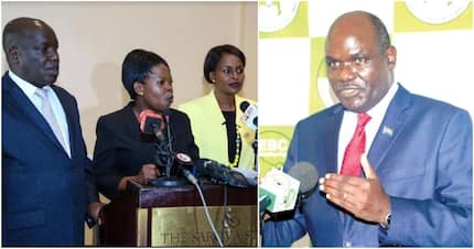 Chaos at IEBC as Chebukati orders locks to offices of 3 defiant commissioners changed immediately