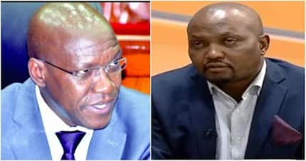 Boni Khalwale amwanika Kuria, asema ni mlevi katika 'live interview'