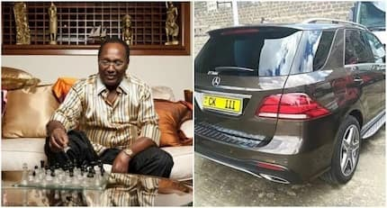 Kenyan billionaire Chris Kirubi leaves mouths agape after getting himself another super expensive Mercedes M-class
