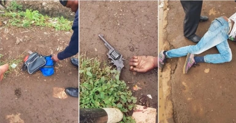 Police who allegedly shot dead wanted criminal on spot for killing wrong target