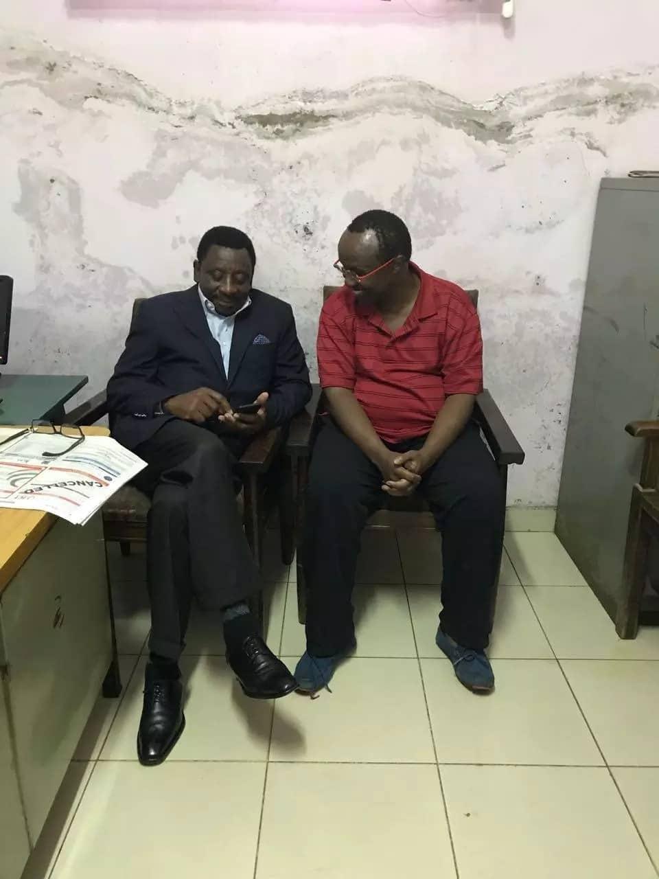 Raila is using you - Mutahi Ngunyi tells David Ndii