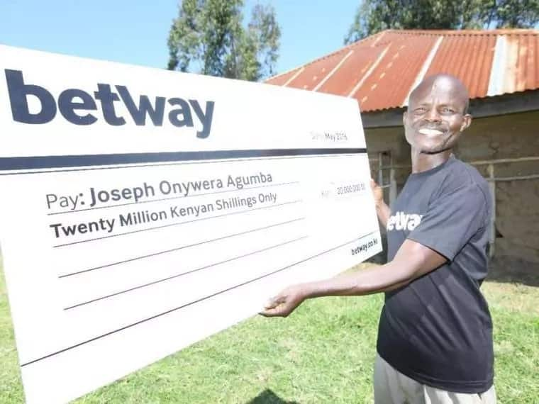 Betway jackpot winner rejects wife, accepts children back