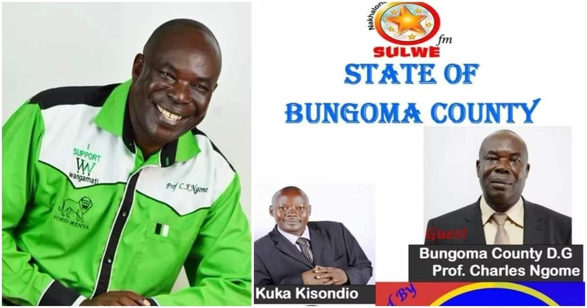 Bungoma deputy governor rushed to hospital after he collapsed in a hotel