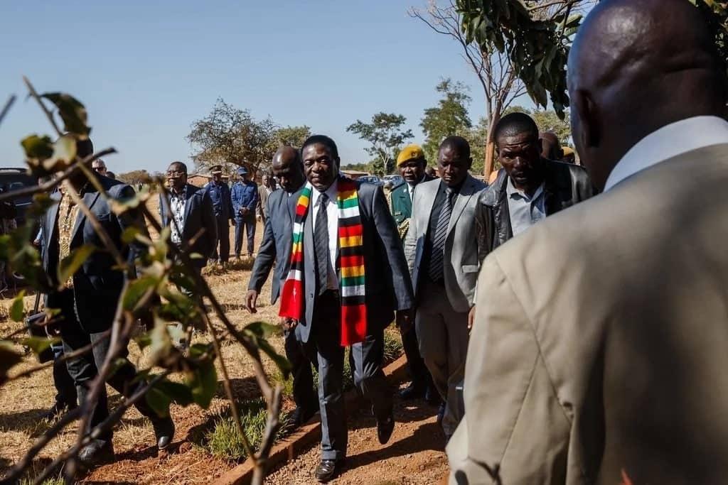 Emmerson Mnangagwa declared president elect of Zimbabwe
