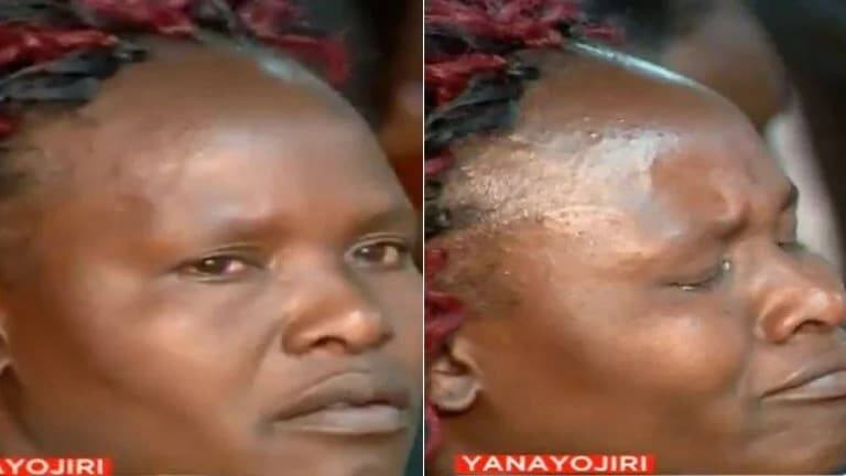 Sharon Otieno's mum breaks down, weeps in court as Governor Obado is arraigned
