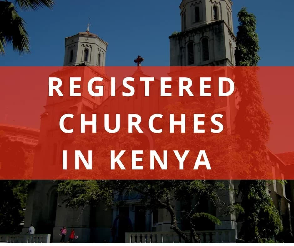 registered churches in Kenya