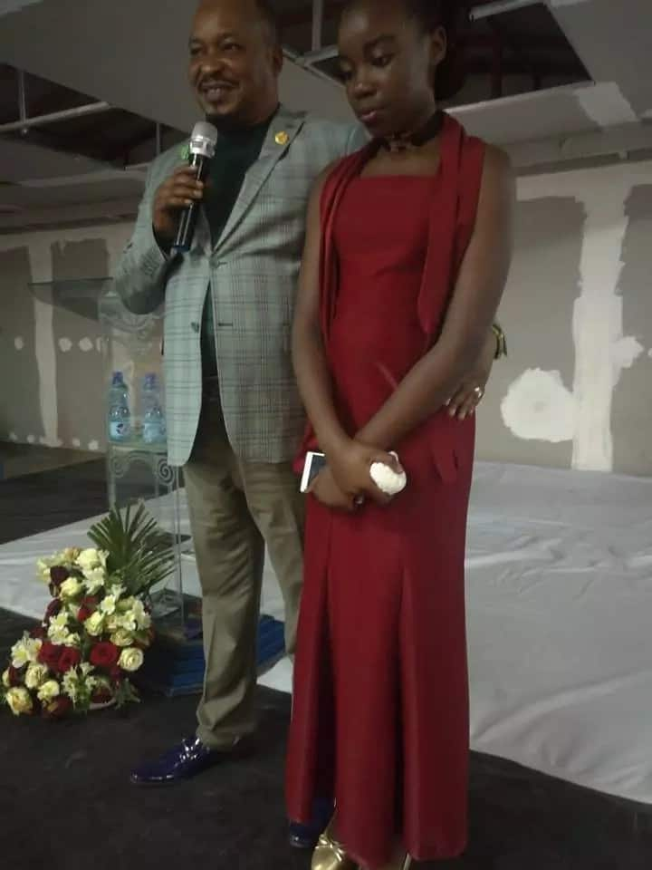 Husband to late gospel songstress, Angela Chibalonza, introduces her now full grown daughter