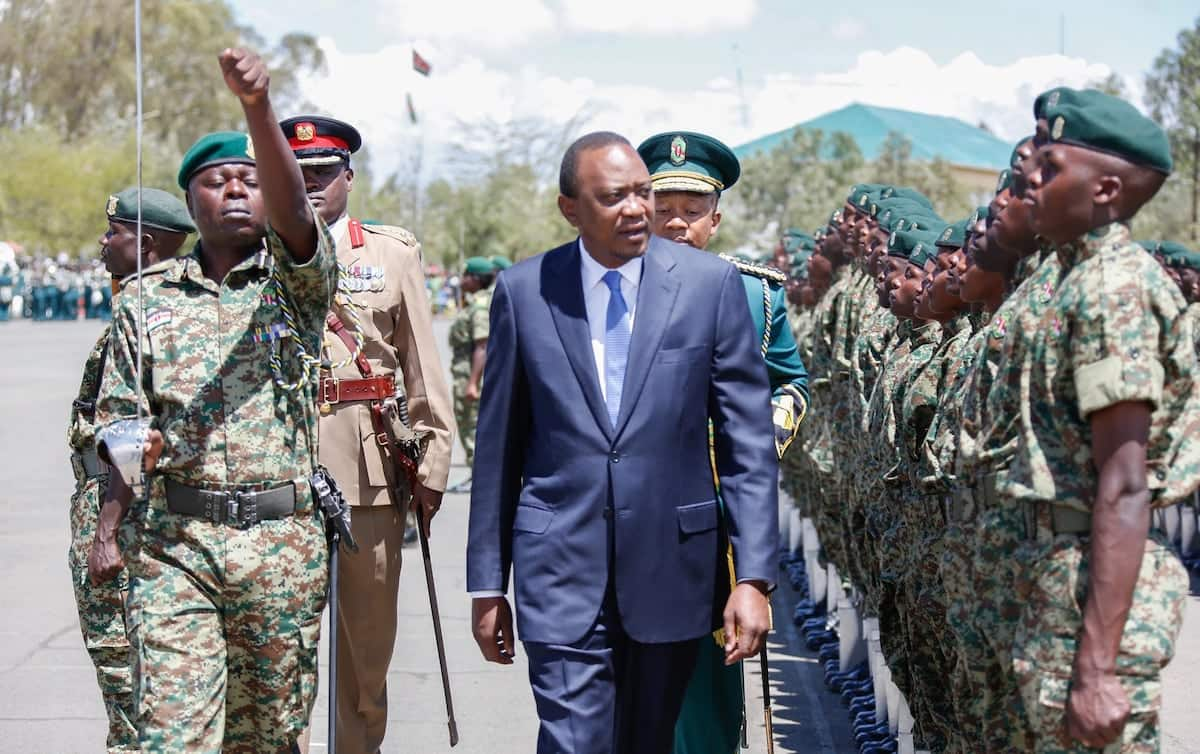 Angry Kenyans shut down Uhuru Kenyatta on his Facebook page after declaring war against NYS theft