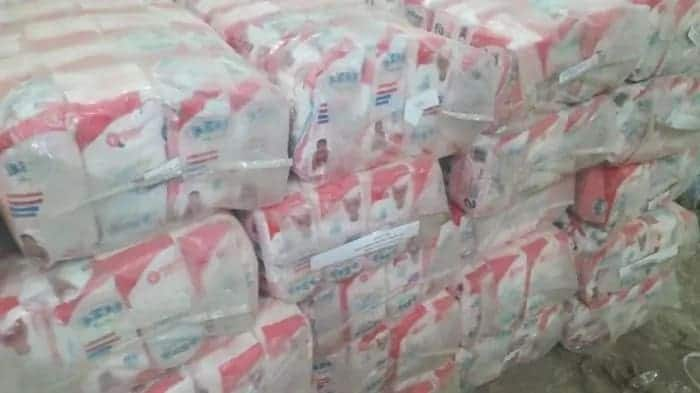 Police impound 5000 bales of expired diapers in Nairobi