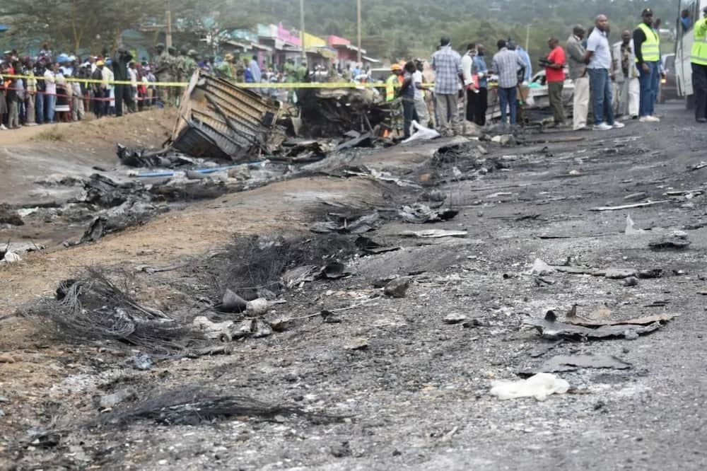 Latest photos of the Naivasha accident