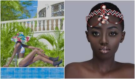 Akothee's model daughter leaves nothing to imagination after stepping out in skimpy bikini
