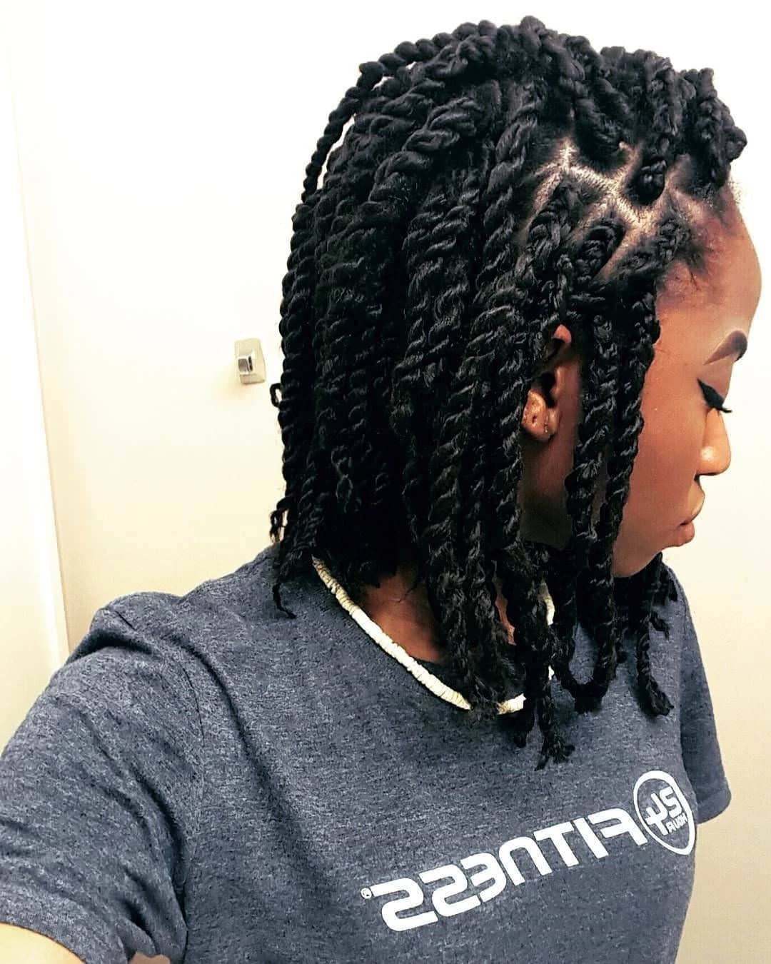 20 Cute Kinky Twist Hairstyles For Short Hair Tuko Co Ke