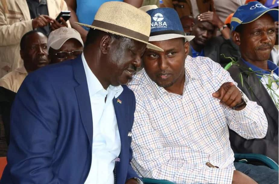 NASA leaderships to meet amid claims of Raila bullying