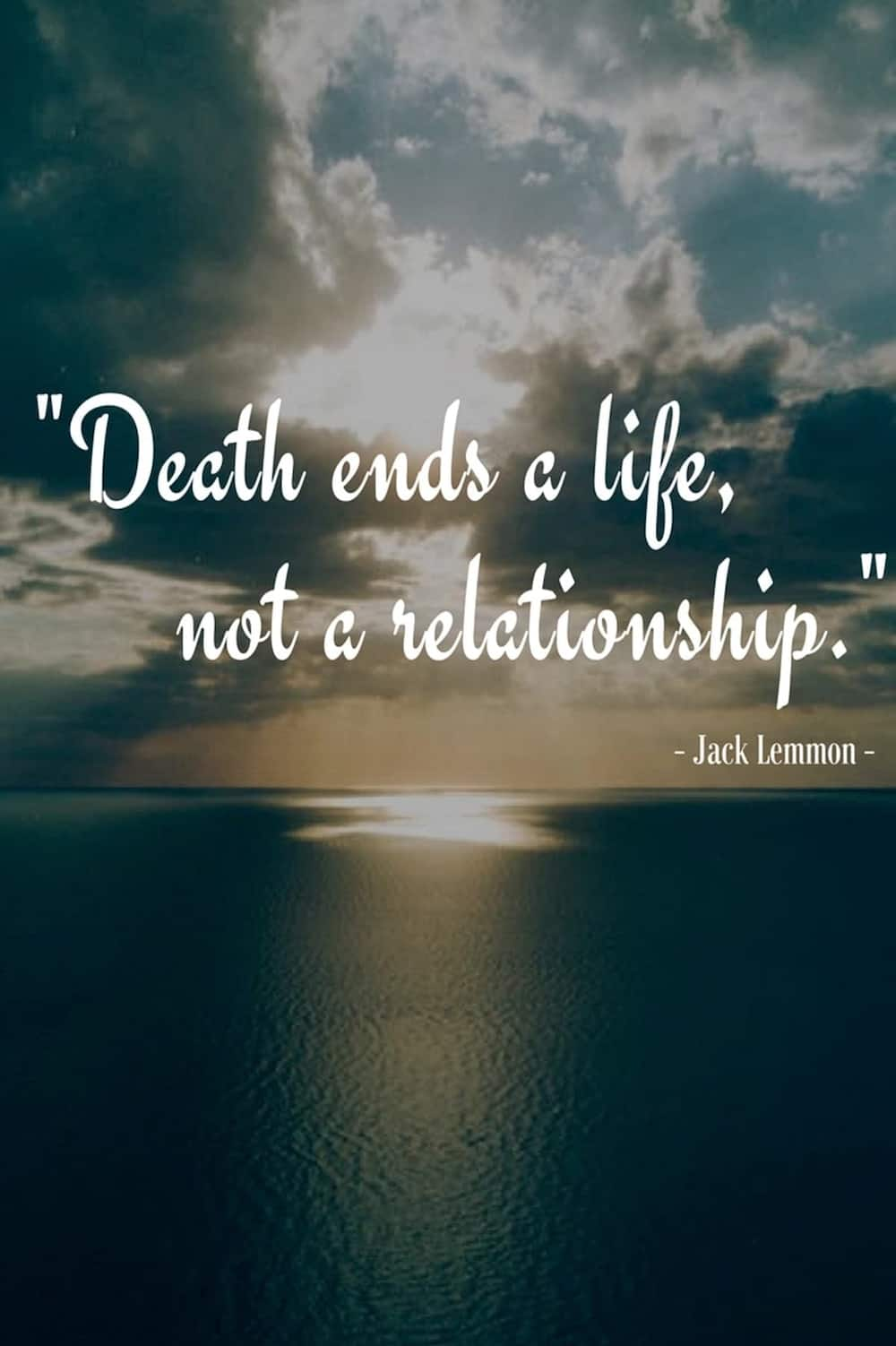 Quotes On Loss: Sad Quotes About Death Of A Loved One Tuko.co.ke