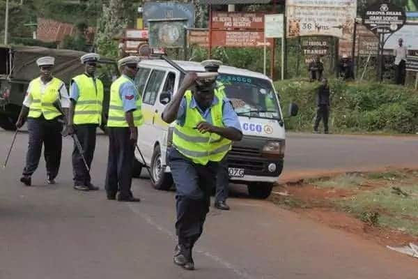 Embu matatu driver speeds off with traffic police officers, dumps them in forest